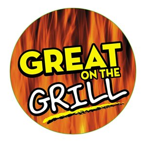 """GREAT ON THE GRILL  (HOLOGRAPHIC 2"""" CIRC)"""