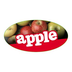 APPLE FLAVOR LABEL