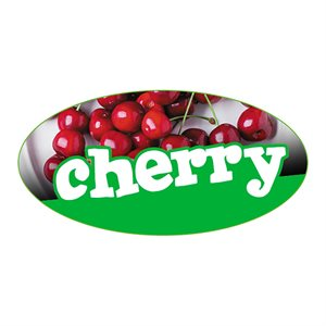 CHERRY FLAVOR LABEL
