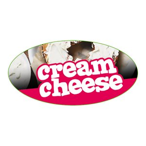 CREAM CHEESE FLAVOR LABEL