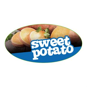 SWEET POTATO FLAVOR LABEL
