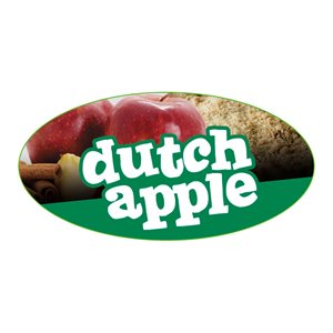 DUTCH APPLE FLAVOR LABEL