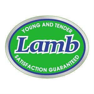 YOUNG TENDER LAMB LABEL